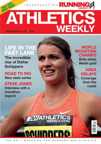 Athletics Weekly issue 24 September 2015