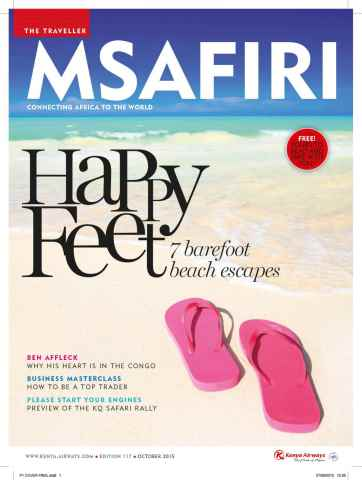 MSAFIRI – Kenya Airways Inflight issue October 2015