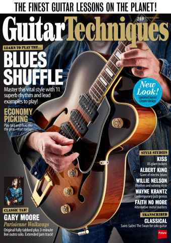 Guitar Techniques issue November 2015