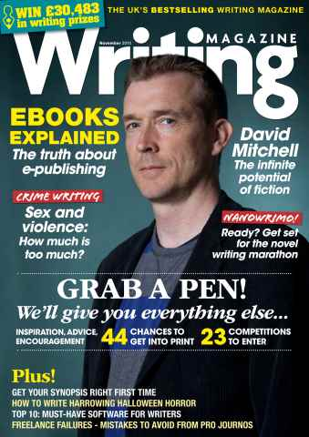 Writing Magazine issue November 2015