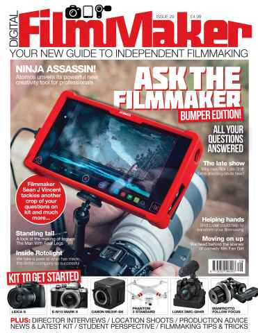 Digital FilmMaker issue dfm issue 29