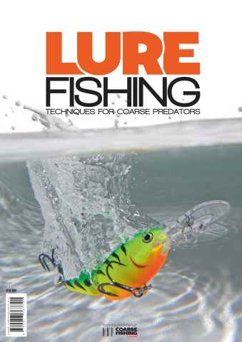 LURE Magazine issue LURE FISHING: TECHNIQUES FOR COARSE PREDATORS