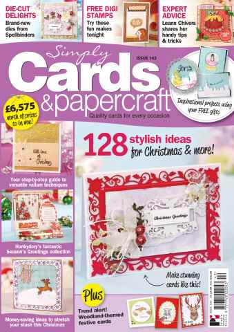 Simply Cards & Papercraft issue 142