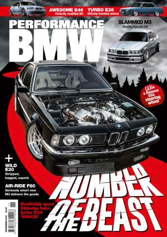 Performance BMW issue November 15