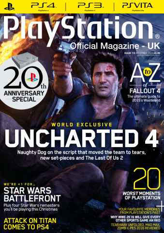 Playstation Official Magazine (UK Edition) issue November 2015