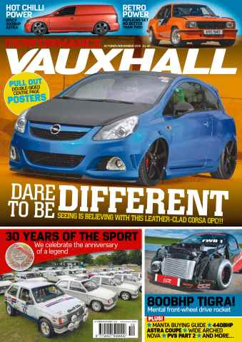 Performance Vauxhall issue No. 177 Dare to be Different