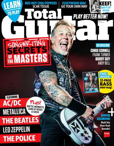 Total Guitar issue October 2015