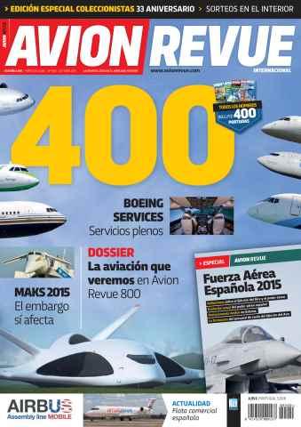Avion Revue Internacional España issue Número 400