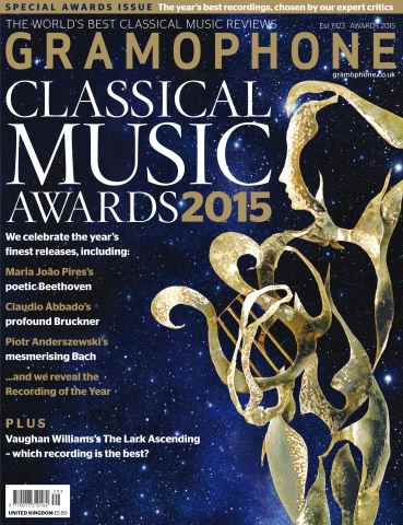 Gramophone issue Awards 2015