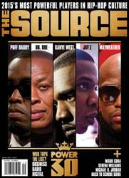 The Source Magazine issue #267 The Source Magazine POWER30