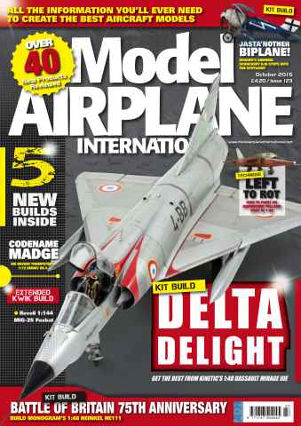 Model Airplane International issue 123