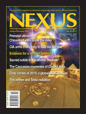 Nexus Magazine issue Oct - Nov 2015