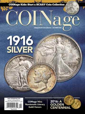 COINage issue October 2015