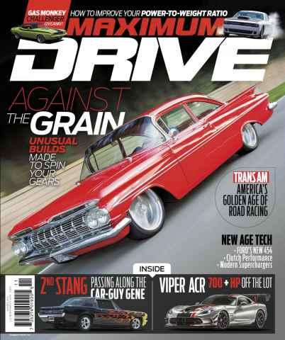 Maximum Drive issue November-December 15