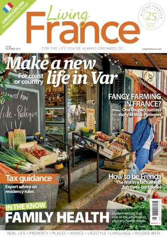 Living France issue October 2015