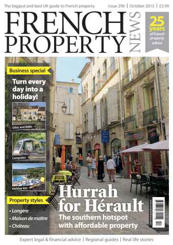 French Property News issue October 2015