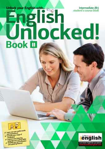 Learn Hot English issue English Unlocked! Intermediate (B1) Book II