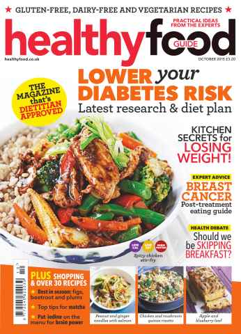 Healthy Food Guide issue October 2015