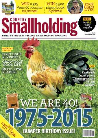 Country Smallholding issue November 2015