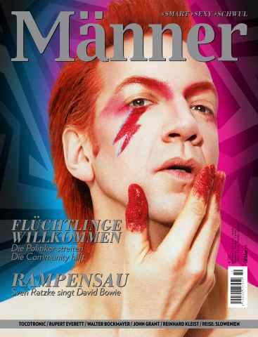 MÄNNER issue Männer 10.15 Oktober