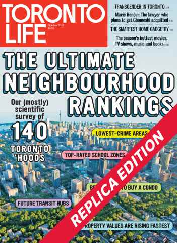 Toronto Life issue October 2015
