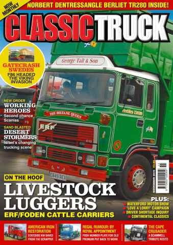 Classic Truck issue No. 19 Livestock Luggers