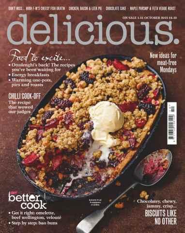 Delicious Magazine issue October 2015