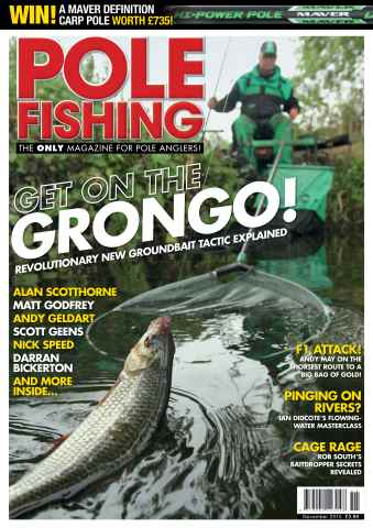 Pole Fishing issue November 2015