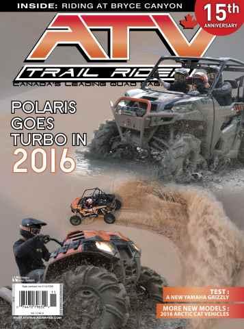 ATV Trail Rider issue Nov Dec 2015