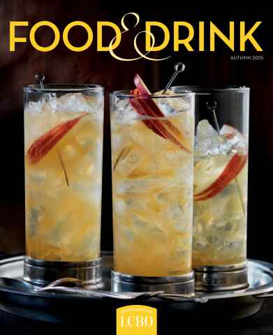 LCBO Food & Drink issue Autumn 2015