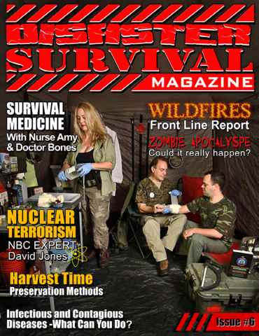 Disaster Survival Magazine issue Issue #6