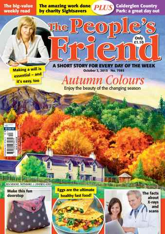 The People's Friend issue 03/10/2015