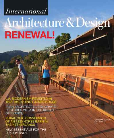 Int. Architecture & Design issue Fall 2015