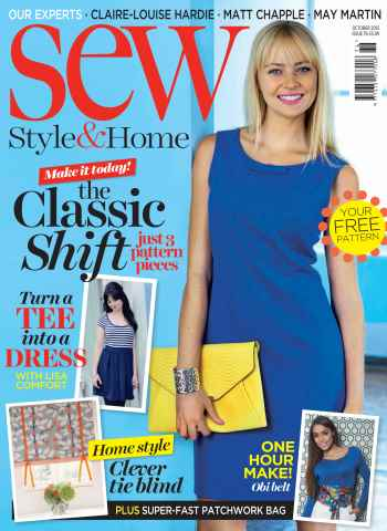 Sew issue October 2015