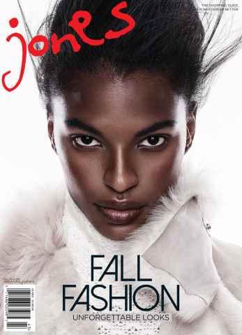 Jones Magazine issue Fall 2015