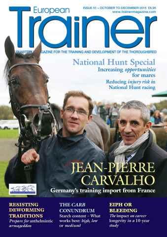 European Trainer Magazine - horse racing issue October-December 2015 – Issue 51