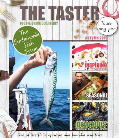 The Taster Magazine issue Autumn 2015
