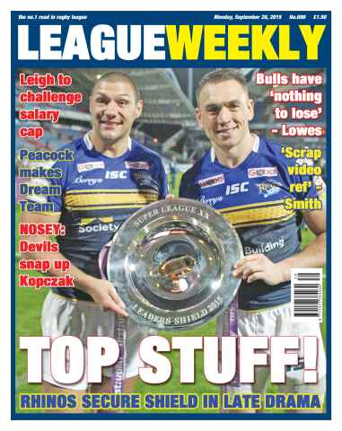 League Weekly issue 28 September 2015