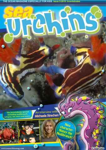 Sea Urchins Magazine issue ISSUE 5: INVERTEBRATES!