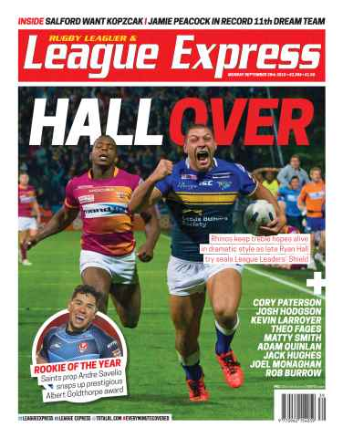 League Express issue 2986