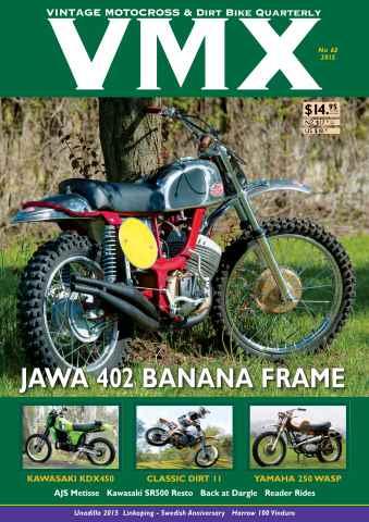 VMX Magazine issue VMX Issue 63
