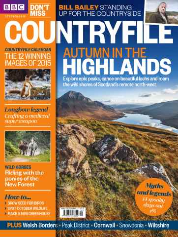 Countryfile Magazine issue October 2015