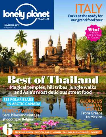 Lonely Planet Traveller issue November 2015