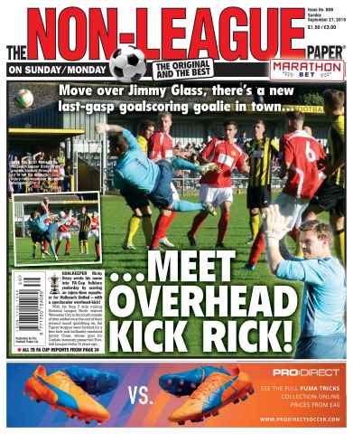 The Non-League Football Paper issue 27th September 2015