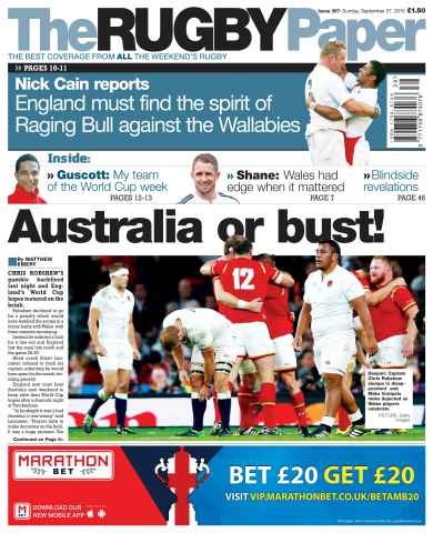 The Rugby Paper issue 27th September 2015