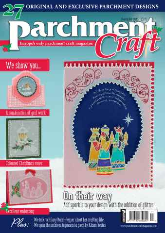 Parchment Craft issue November 2015