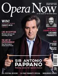 Opera Now issue October 2015