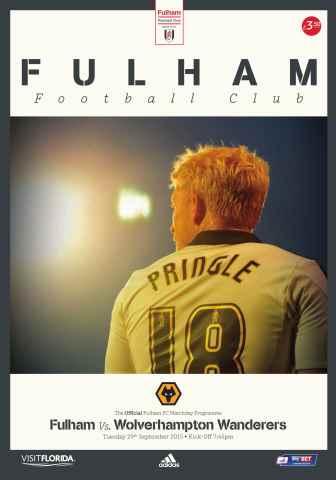 Fulham FC issue Fulham Vs. Wolves 2015-16