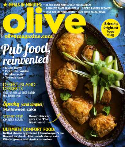 Olive Magazine issue   November 2015
