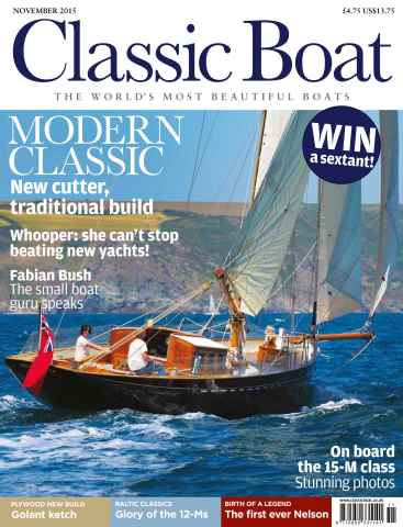 Classic Boat issue November 2015